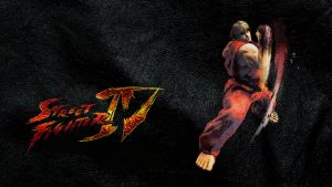 Street Fighter IV Ken wide by ManeFunction