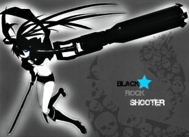 Black Rock Shooter by brazzette