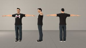 Markiplier Model for Source Filmmaker by ajle9550