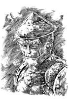 The Tin Man inked by INKER-GUY by werder