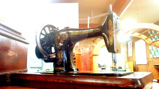 Sew with an Antique  by ArtsyChick28
