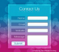Free PSD - Dream Contact Form by mavermedia