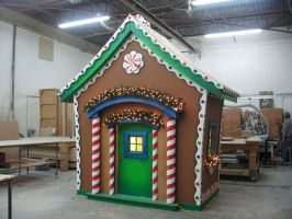 Ginger bread House III by Milloune
