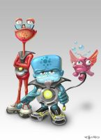 little_aliens by Folko-S