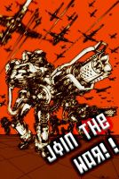 JOINT THE WAR by bone2002thought