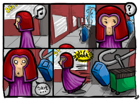 Comic: Magneto the Magnet by Bampire