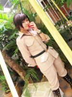 Cosplay: Romano by Junez-chan