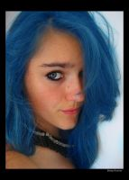 Me - Blue Hair by kittyK188