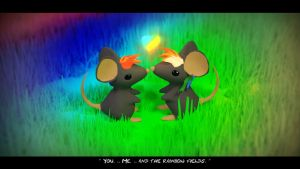 Rainbow Love ( Ratinhapip's Mouse ) by Voleuro