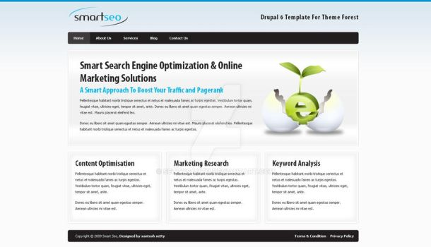 Smart Seo Drupal 6 Corporate T by settysantu