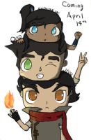 Team Korra Collab by quidditchchick004