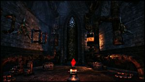 Inside The Mournhold Temple by BinaryReflex