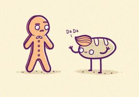Ginger bread man by randyotter