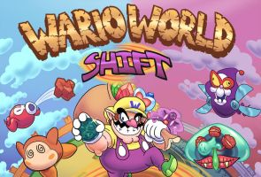 RGI - Wario World Shift by WideMouthInk