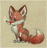 Petit Renard by Zerda-Fox