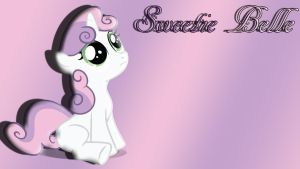 Sweetie Belle Wallpaper by schocky