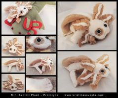 Mini Axolotl Plush by Tylon