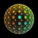 Fractal Disco Ball Animation by baba49