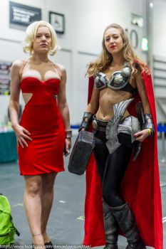 Number 6 and Thor by AshleyReeve