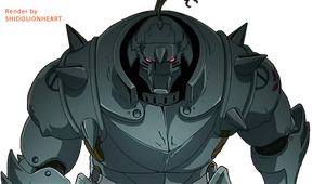 Alphonse Elric Render by ShidoLionheart