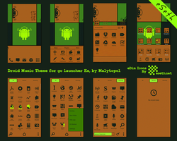 Droid Music Go Launcher Ex Theme by malytopol