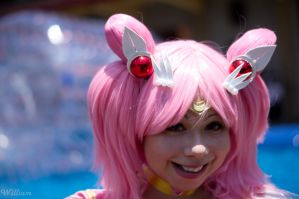 Sailor Chibi Moon - Happy by Sun-Gukong