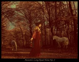 Autumn's Long Road Home No. 2 by MedievalKnight