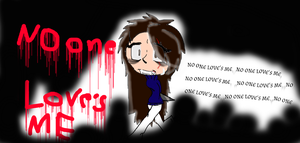 wallpaper: No one love's me... by sonicteam10892