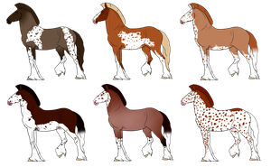 Adoptables: Malorian Warhorses ALL TAKEN by PinkPonyFarts