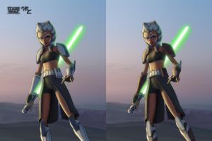 Ahsoka in 501-st and Coruscant Guards Armor by Master-Cyrus