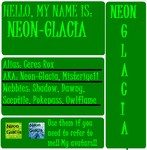 deviantART Identification pict by Neon-Glacia