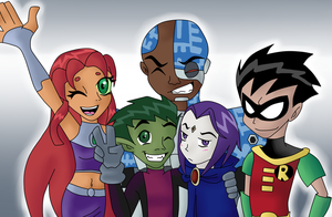 Contest: Teen Titans by BeastGreen