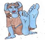 Soles of Aayla Secura by Darthbane2007