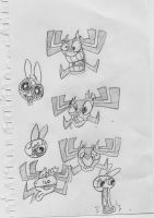 Second Worst Aku Drawings by Closetshipper