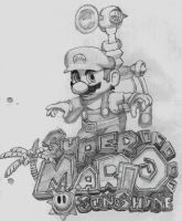 Super Mario Sunshine by AlexDickson