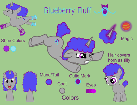 Blueberry Fluff Ref by Speckledtail