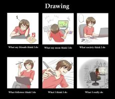 when I drawing by V-Sil