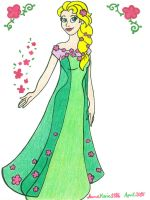 Spring Elsa by AnneMarie1986