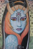 The Twilight Princess, Midna by sophielights