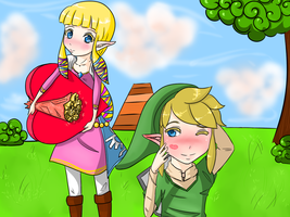 Early Zelink Valentine's by IcyInMay