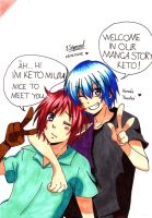 Welcome New OC Keto Miura by JasiChan17