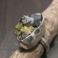 Idocrase ring by Jealousydesign