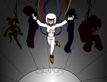 Human GLaDOS by mortimermcmirestinks