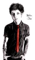 Billie Joe pencil by GhoulSoul