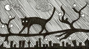The Cat and the City by MsSilith