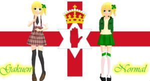 MMD Newcomer .:Northern Ireland:. by BritishGirlxx