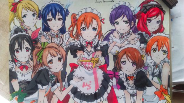 Idols everywhere!!!(Love Live!) by lucasnava