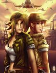 Metal Slug - Eri and Fio by yiyang1989