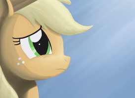 Contemplative Applejack by WerdKcub