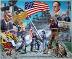 commisioned 9-11 painting by cliffk